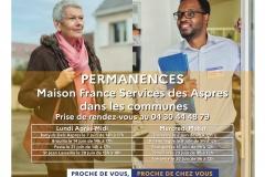 Maison France Services - Permanences