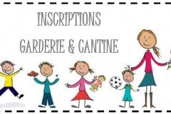Rentrée scolaire 2019/2020 - Cantine/Garderie