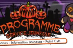 Programme d'activités vacances de Toussaint 2019 - Service Jeunesse CC ASPRES