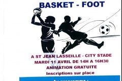Animations Jeunes : basket-foot