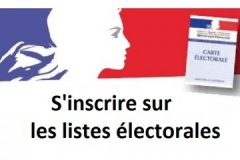 S'inscrire sur les listes électorales
